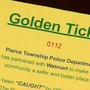 Ohio police department will issue 'golden tickets' for doing the right thing