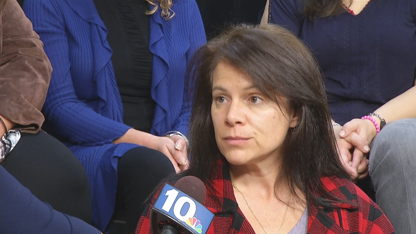 Cheryl Eauceo said she was told by the health department that &quot;it's hard to prove a cluster&quot; and that &quot;people get sick all of the time.&quot; (WJAR photo)<p></p>