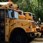 Buses back on roads as kids head back to school, app allows parents to track child's bus