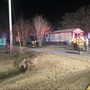 Crews respond to early morning fire near Conway