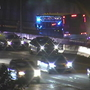 Two men taken into custody after party bus breaks down on I-5