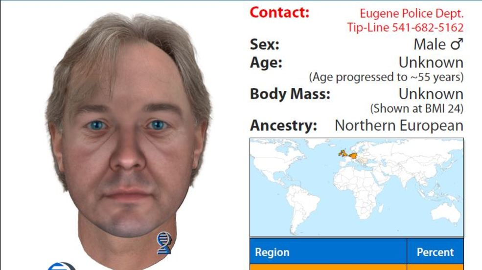 DNA technology links trio of unsolved Eugene murders to same