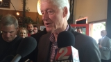 Bill Clinton makes surprise stop on Alberta Street