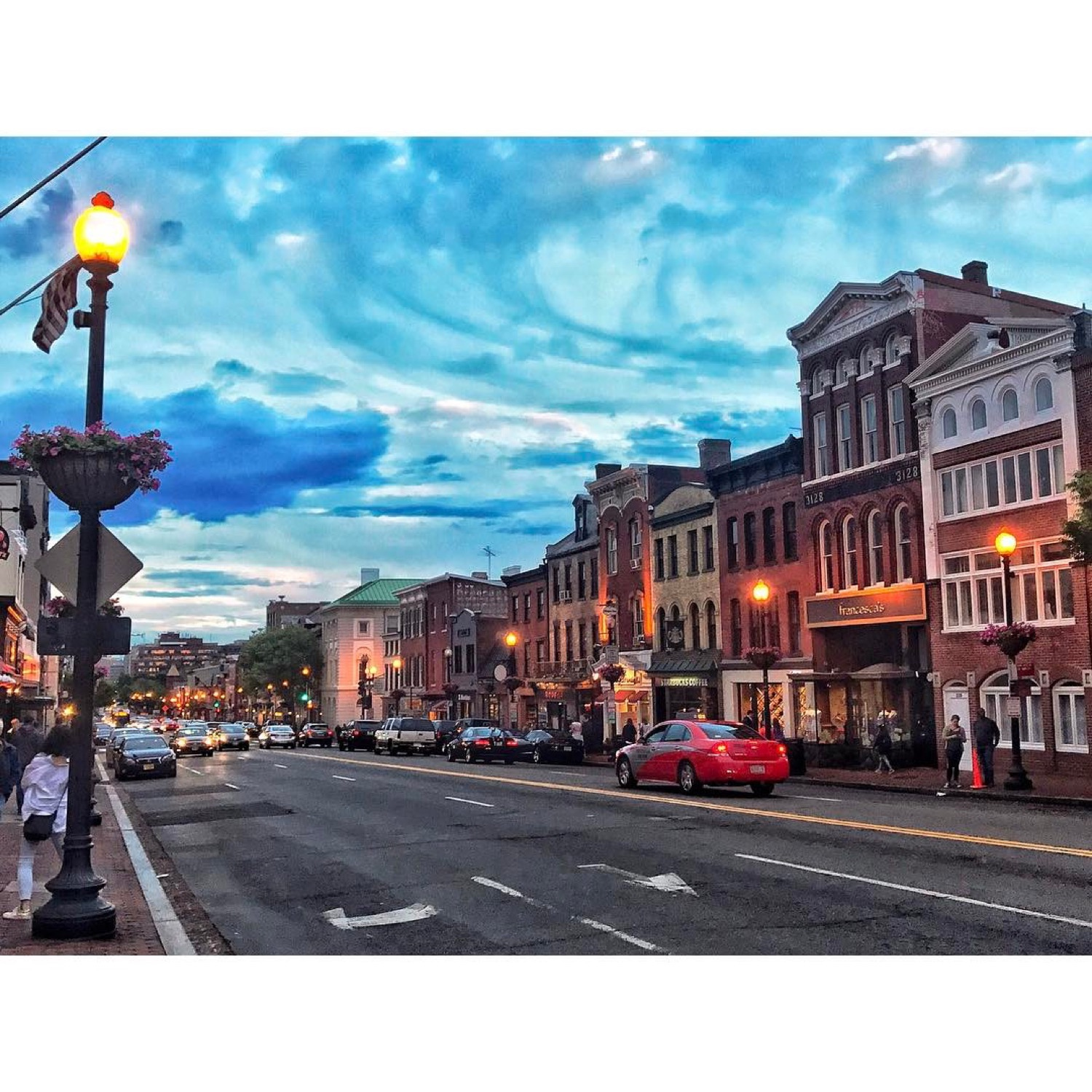 PLACE: Georgetown, Washington, DC / MILES FROM CINCY: 500 / ABOUT: But as long as we're on the subject, Georgetown is eye-catching in its own right. And t's home to the house JFK lived in while running for president (address: 2706 Olive Street). Not bad, eh? / Image courtesy of Instagram user @sarahdhetrick // Published: 5.14.17