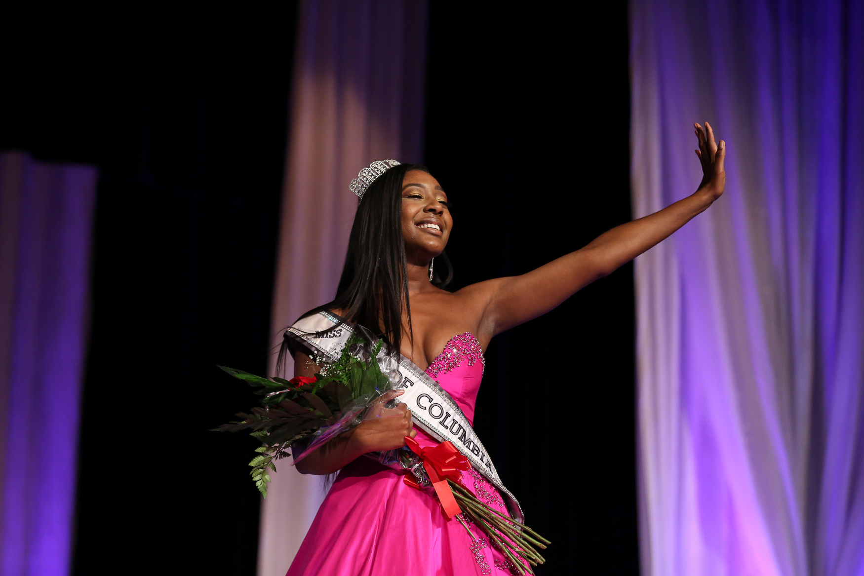 The evening also marked the end of Madison Chambers' tenure as Miss Teen District of Columbia USA.(Amanda Andrade-Rhoades/DC Refined)<br>