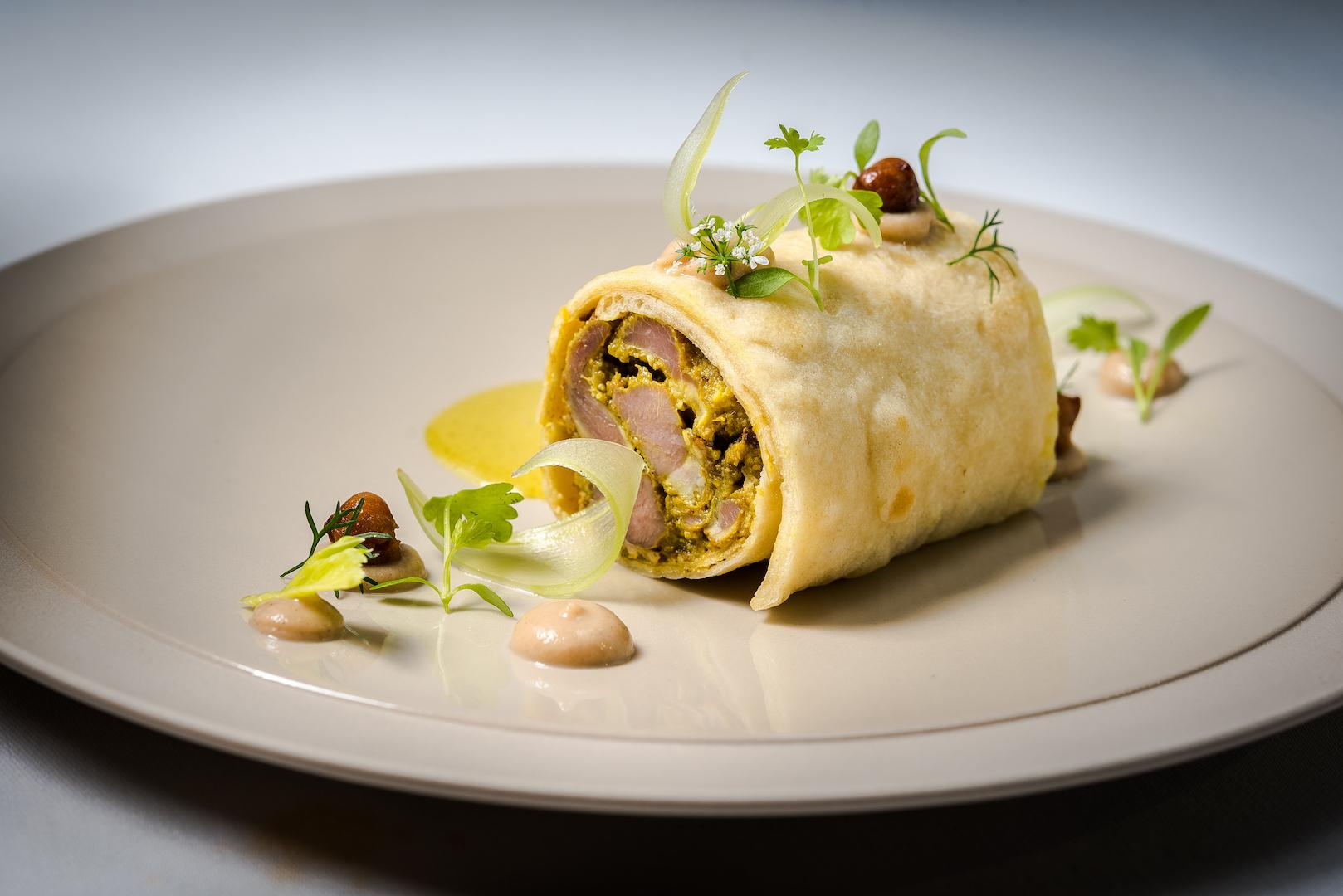 The goat roti was definitely the star dish of our preview dinner{&amp;nbsp;}(Photo by Rey Lopez)<p></p>