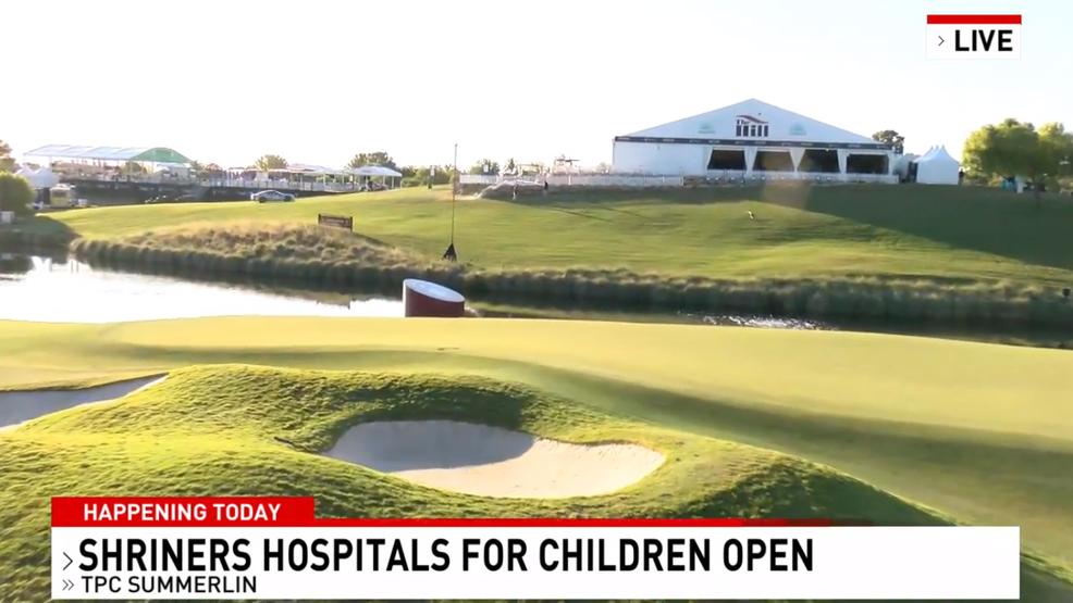 Golf stars arrive in Las Vegas for Shriners Open PGA tournament
