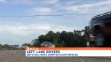 Florida deputies cracking down on left lane slow drivers