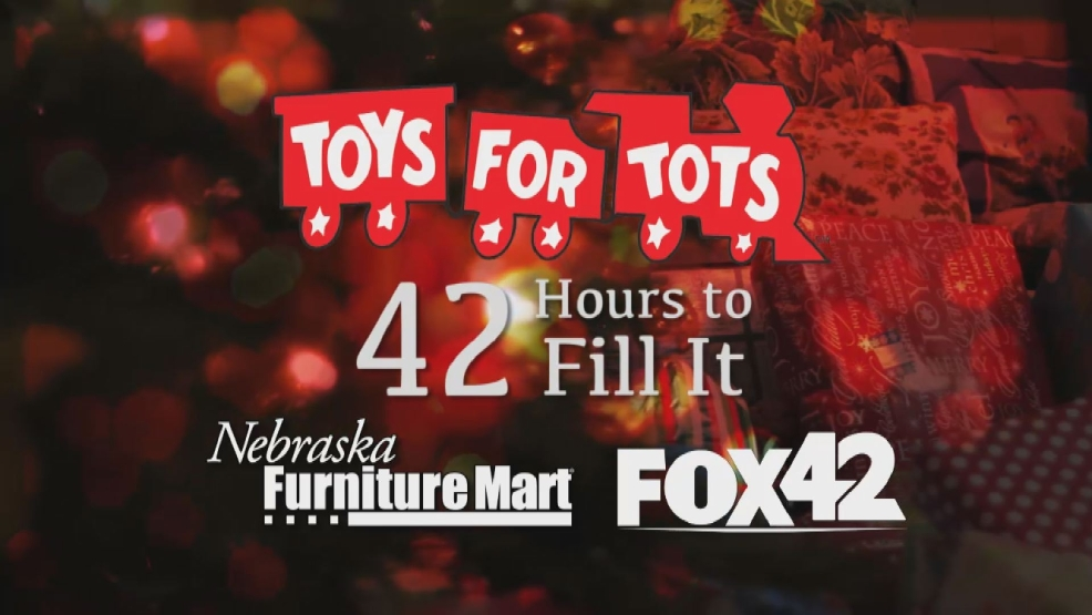 Toys For Tots Graphics : 42 hours to fill it to help toys for tots kptm