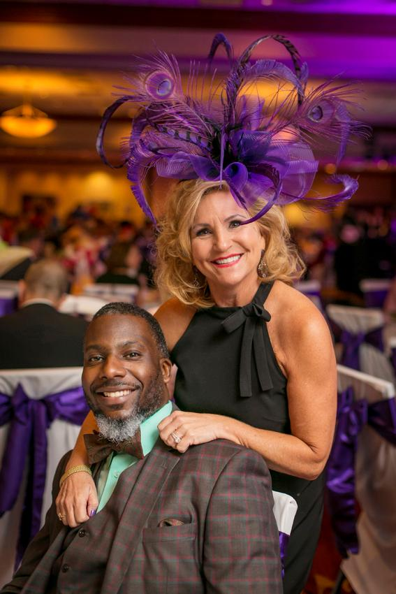 David Edwards and Candace Jefferies at the American Cancer Society's Striders' Ball (10.13.18) / Image: Mike Bresnen Photography // Published: 10.31.18{ }