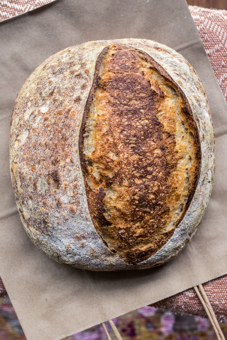 House-baked sourdough / Image: Catherine Viox{ }// Published:{ }6.23.20