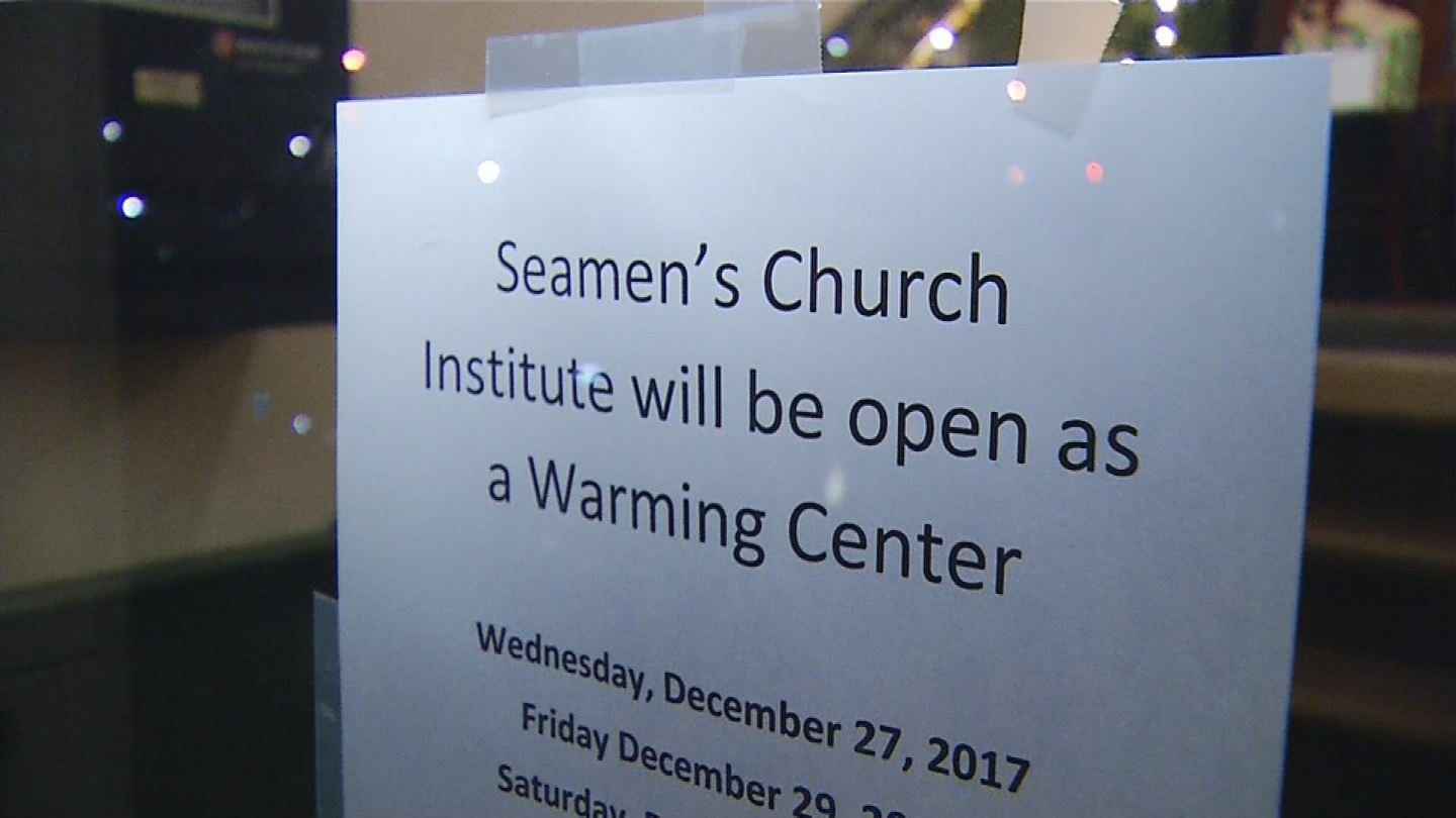 Seamen's Church is only overnight warming center in Rhode Island that opens spontaneously. (WJAR photo)<p></p>