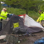 Seattle begins removing homeless camps along the I-90 & I-5 interchange
