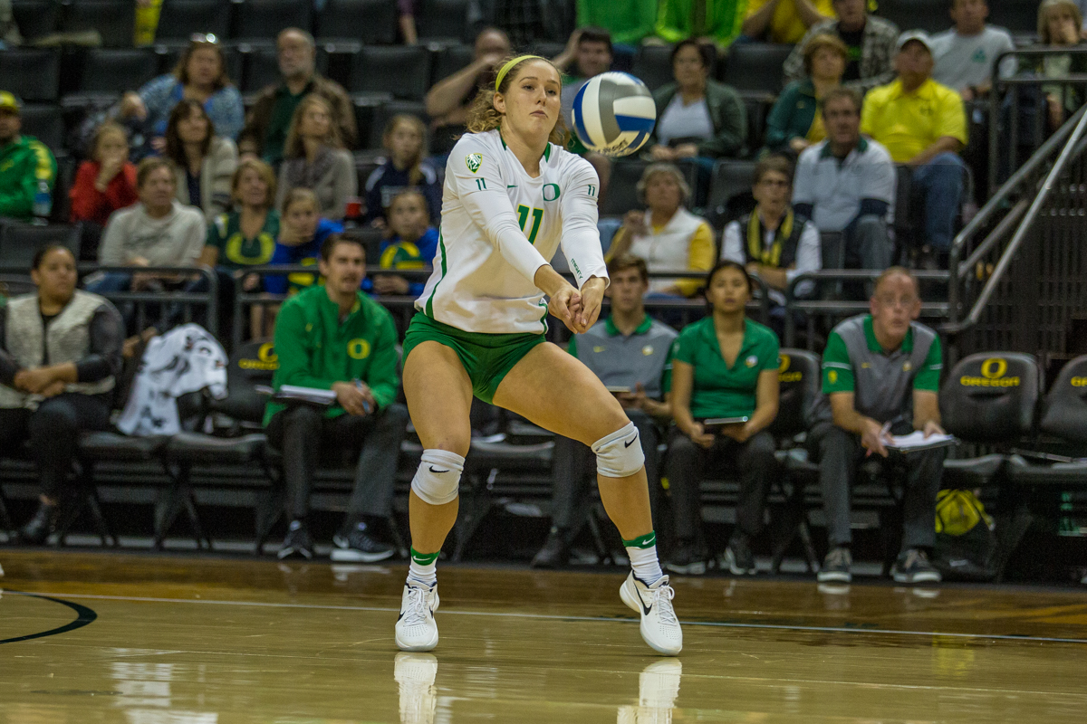 Oregon volleyball | PHOTOS | KVAL