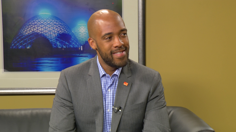 Mandela Barnes, Democratic candidate for Wisconsin Lt. Governor.png