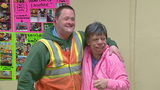 Feel good: Couple celebrates milestone wedding anniversary... at Home Depot?