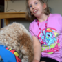 Monroe mom raising money for daughter's service dog