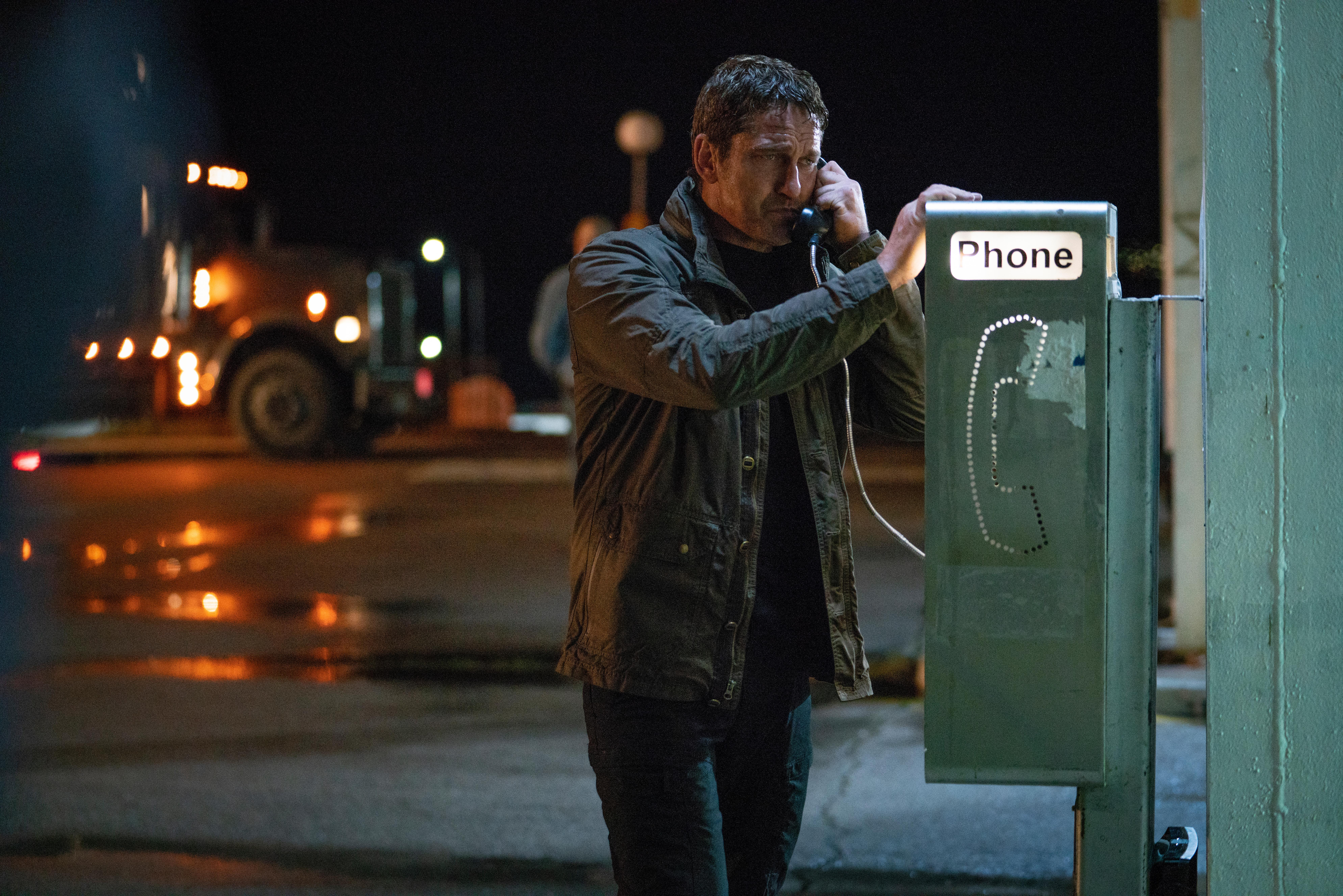 Gerard Butler stars as 'Mike Banning' in ANGEL HAS FALLEN.{ }(Image: Lionsgate)