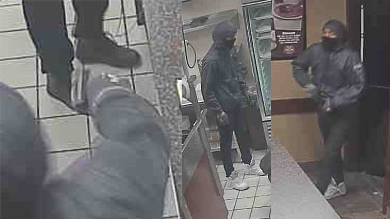 Police said the robbery happened at the Marco's Pizza in the 5100 block of North High Street near Graceland Shopping Center. (Courtesy: Columbus Police)