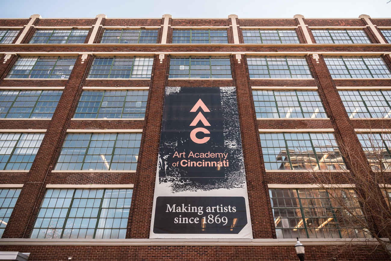 The AAC has roots that go as far back as 1869. The school was closely associated with the Cincinnati Museum Association until 1998 when it became an independent school of art and design. It moved to Over-the-Rhine from its home in Mt. Adams in 2005. / Image: Phil Armstrong, Cincinnati Refined // Published: 2.16.17