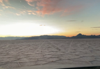 Driving around on the Bonneville Salt Flats during sunset. (Adam Forgie, KUTV) (10).png