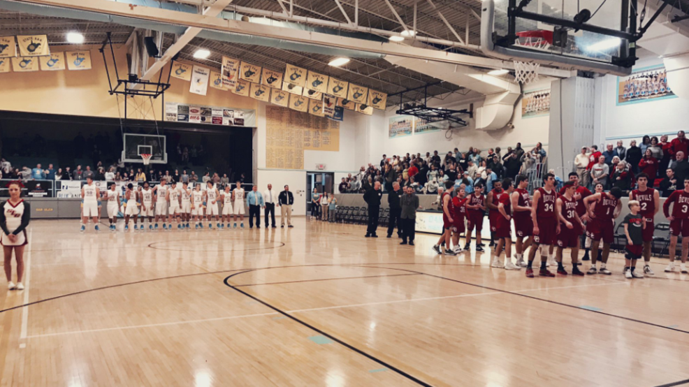 2.12.19. Highlights: St. Clairsville vs. Oak Glen, 4A Semi-Final - boys basketball