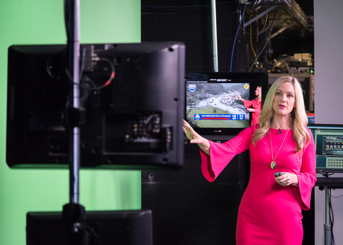 <p>Jen Dalton, Local 12 News traffic reporter / Image: Phil Armstrong, Cincinnati Refined // Published: 10.5.18<br></p>