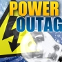 Over one thousand people without power earlier Monday in northwest Kansas