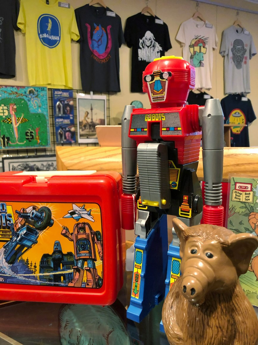 "Benzing says, ""The toy community, especially, is such a supportive one, and that enthusiasm is contagious."" The shop has experienced a warm welcome from toy collectors since opening in September 2020. / Image courtesy of Earth to Kentucky // Published: 11.16.20"