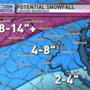 Higher snowfall totals in D.C. area than originally expected