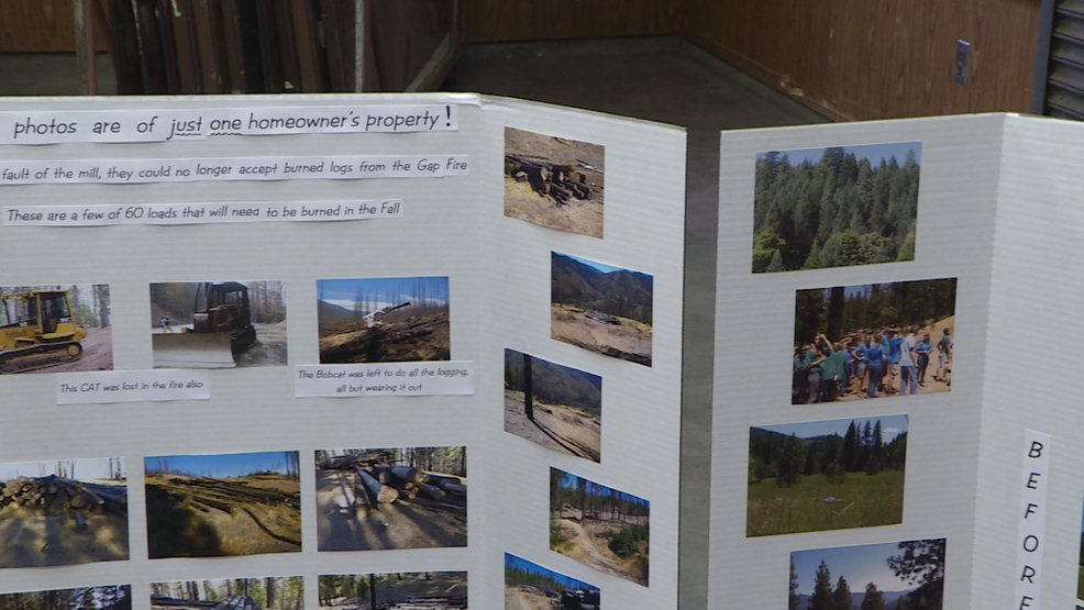 Horse Creek community gathers to discuss Gap Fire, three years later