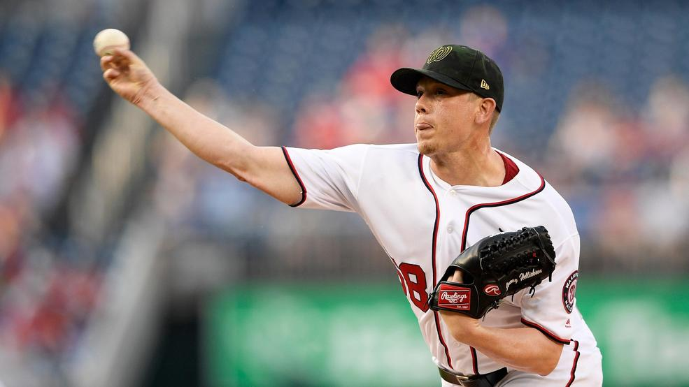 Jeremy Hellickson's early struggles cost Nationals in loss to Cubs