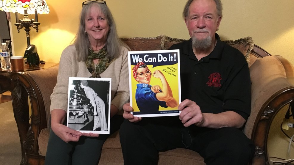 Memorial held for Longview woman who inspired 'Rosie the Riveter' image