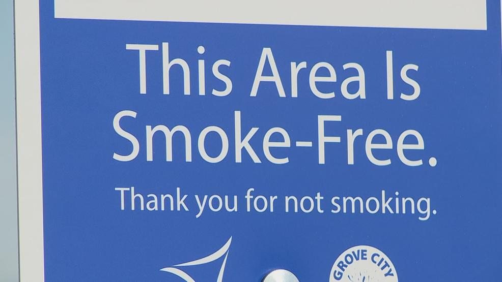 Grove City leaders are using signs to send a message that smoking is not welcome in city parks. (WSYX/WTTE)