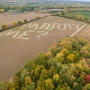 N.Y. farmer mows marriage proposal into field