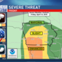 Strong storms, hail possible Friday
