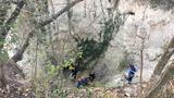 High school student rescued after getting stuck in cave