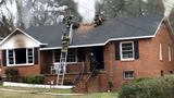 Crews fight fire at east Macon home