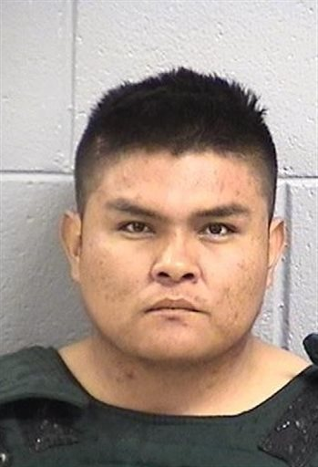 This photo provided by San Juan County, N.M. Detention Center shows Tom Begaye of Waterflow, N.M. Begaye was arrested in connection with 11-year-old Ashlynne Mike's disappearance and death. The FBI said  Mike, was abducted after school on Monday, May 2, 2016 and her body was found the next day. (San Juan County, N.M. Detention Center via AP)