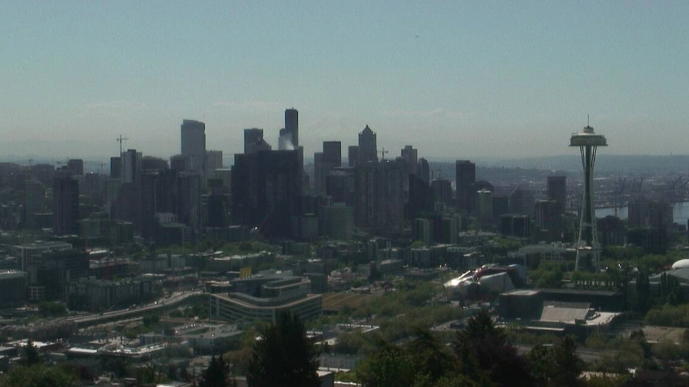 Seattle's first half of May checks in warmer than parts of Los Angeles