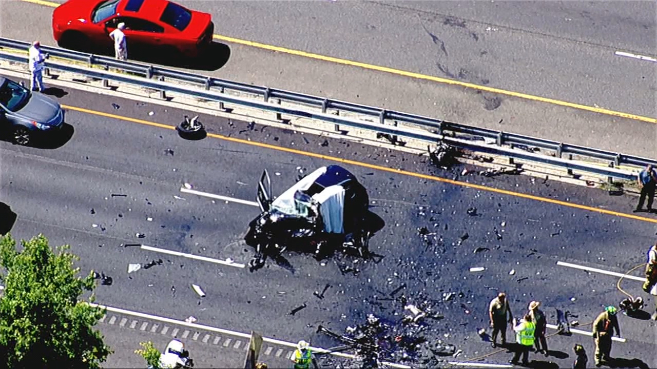 Woman driving wrong way on Rt. 50 killed in head-on collision, along with other driver. (SkyTrack7)