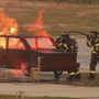Asheville Fire Department recruits put their training to the test
